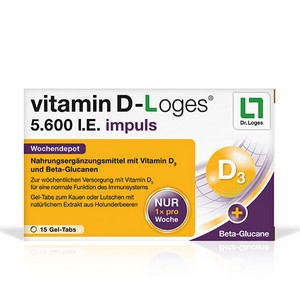 vitamin D-Loges® 5.600 I.E. impuls